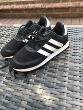 boys black adidas trainers size 2