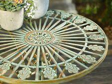 """Metall-Tisch """"Pfauenauge"""" Möbel Terrasse Garten Wohnzimmer"""