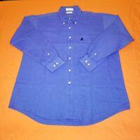 Walt Disney World Men's L Long Sleeve Single Needle Tailoring Button Down Shirt