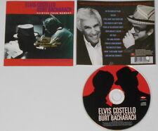 Elvis Costello Burt Bacharach  Painted From Memory  U.S. promo cd