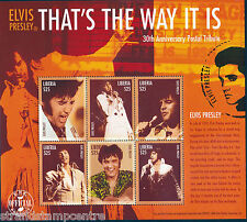 Elvis Presley That's The Way It Is Unmounted Mint Stamp Sheet from Liberia