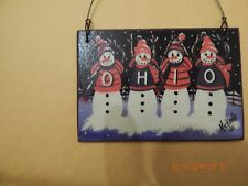 CHILLICOTHE, OHIO FOLK ART  / SIGNED BY Michael / 5  x 3  3/4