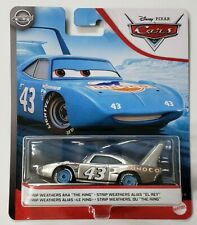 CARS - KING (IL RE) SILVER - Mattel Disney Pixar
