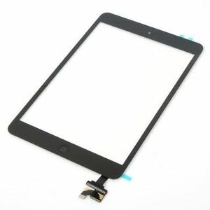 iPad mini 1 2 Touch Digitizer Screen + IC Connector Home Button Assembly (BLACK)