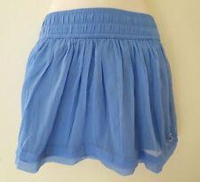 Hollister Regular Size Solid Mini Skirts for Women