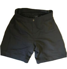 The North Face Devah Gray Padded Quick Dry Mountain Biking Shorts Size Med New