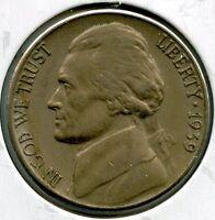 1939-S Jefferson Nickel - San Francisco Mint - AL707