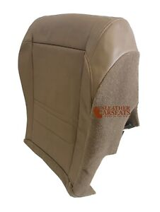 1998-2001 FORD EXPLORER XLT VINYL DRIVER BOTTOM REPLACEMENT SEAT COVER TAN