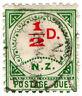 (I.B) New Zealand Postal : Postage Due ½d