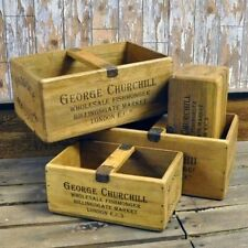 Large Crate Home Storage Boxes with Handles