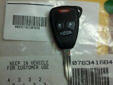Chrysler 4 button RemoteHead COMPLETE OEM Fob fobik key remote panic lock unlock