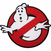 Sew-on Iron-on Embroidered Patch Ghostbuster (Ghost Buster) Badge Fancy Dress