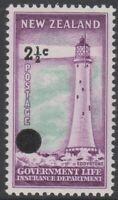 New Zealand - NZ - 1967 - Design Set - Life Insurance - MLH - SGL50a to SGL55a