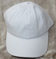 Dockers Men's Core Tonal Embroidered Logo Dad Baseball Hat, White, One Size New