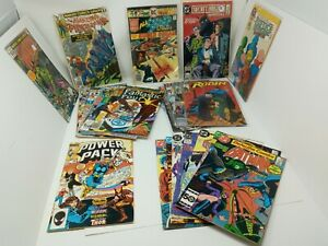 27 Copper + Bronze Age Marvel + DC Superhero Comics Batman, Robin, Spider-Man