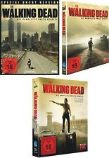 Sin cortes THE WALKING DEAD completo Temporada 1 2 3 Colección 10 BLU-RAY Caja