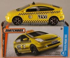 MATCHBOX POWER GRABS #15 '09 Toyota Prius Taxi, 2017 issue (NEW in BOX)