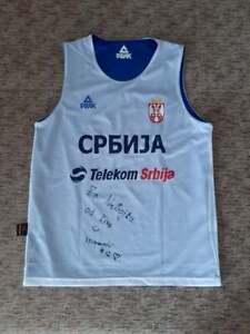 Serbia Basketball Official Training Shirt Peak Two Faces Size L Jersey Srbija