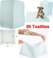 Pack 50 Toallitas empapadores de entrenamiento para mascotas perros, 56 x 56 cm
