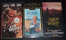 City Slickers,Shell Seekers &Dances with Wolves 3 vhs videos classics collectors