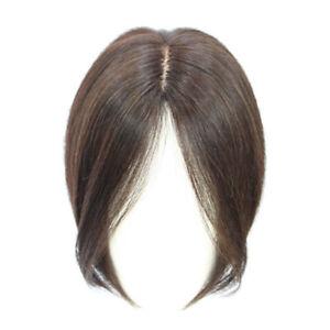 Hairpiece Bangs Bob Top Wigs For Women 100% Real Human Hair Topper Toupee Clip