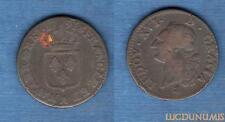 Louis XVI, 1774-1793 – Sol ou Sou 1791 A Paris 2e sem héron TB