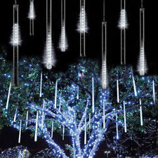 150 led de noel meteor shower falling dropping star pluie icicle neige automne led tube