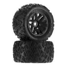 Arrma AR550010 Sand Scorpion MT 6S Tire Set Glued Black (2) Nero 6S