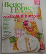 better homes gardens magazine budget saver july 2010 122914r. beautiful ideas. Home Design Ideas