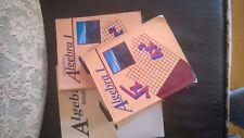 A Beka Algebra ! set three books