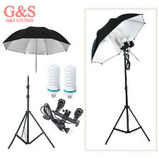 continuous lighting kit 10th light stand+Light bulb+Umbrella+Swivel Adapter