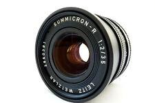 Leitz Leica SUMMICRON R 35mm f2 Germany Wetzlar 3 Cam Nr 2860381  jy090