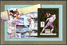 GUYANA 1992 Olympic Games ALBERTVILLE 92 Nordic SKI F.GUY Block 205 A Gold perf