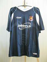 West Ham United 2006/2007 away Sz L Reebok football shirt jersey maillot soccer