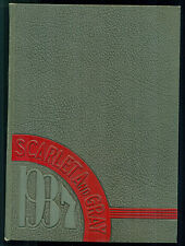 Scarlet and Gray 1937 -- West Lafayette High School, Indiana, Yearbook