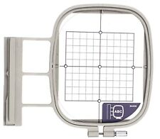 """Medium Hoop 4"""" x 4"""" - SA438 Replacement - for Brother Embroidery Machine"""