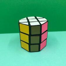 Vintage Rubiks Cube Cylinder Barrel Octagon Puzzle Brain Teaser Toy