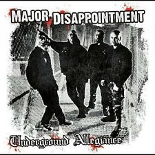 MAJOR DISAPPOINTMENT – UNDERGROUND ALLEGIANCE CD punk oi! skinhead
