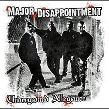 Major disappointment – underground Allegiance cd punk Oi! skinhead