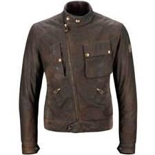 Blousons marron avec doublure taille M pour motocyclette