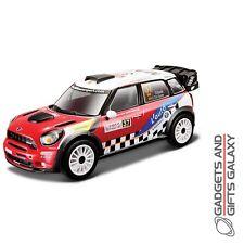 BBURAGO MINI COUNTRYMAN WRC TEAM 1:32 SCALE DIECAST MODEL CAR collectors toy