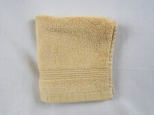 Company Store Legends 700 Egyptian 1 Cotton Washcloth Butterscotch #613F VH57