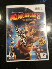 Madagascar 3 The Video Game Nintendo Wii NEW