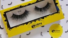 Eldora False Eyelashes M106 Multi-Layered Human Hair Strip Lashes