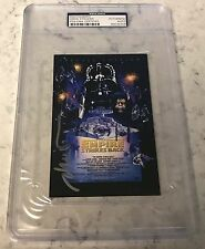 Drew Struzan Star Wars Empire Strikes Back Signed Auto 4x6 Poster Photo PSA/DNA