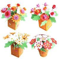 Artificial Foam Flowerpot Handmade EVA Educational Toy DIY Craft Kits For Kids