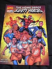 Home Depot safety heroes marvel comic book