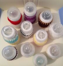 BUY 1 get 1 FREE hand crochet baby bottle cover tommee tippe avent Dr brown MAM
