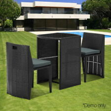 wicker outdoor furniture sets for sale ebay rh ebay com au