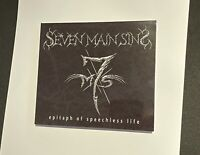 """Seven Main Sins """"epitaph of speechless life"""" - EP CD - Black / Death Metal"""
